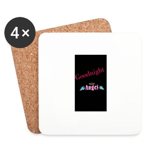 goodnight Angel Snapchat - Coasters (set of 4)
