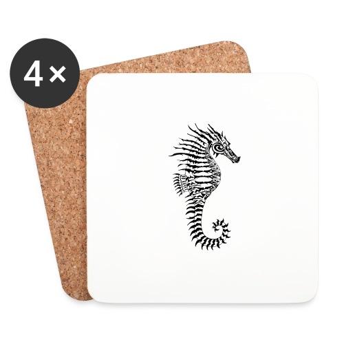 Alien Seahorse Invasion - Coasters (set of 4)