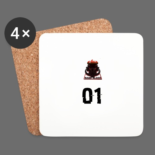 Boar blood 01 - Podstawki (4 sztuki w zestawie)