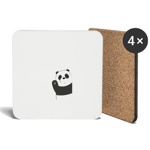 We bare bears panda design - Onderzetters (4 stuks)