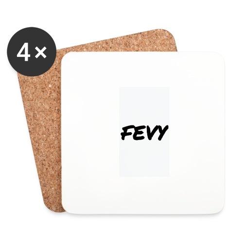 FEVY/Weiß - Untersetzer (4er-Set)