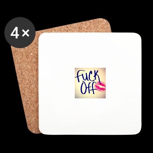 F... Off - Untersetzer (4er-Set)