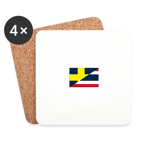 thailands flagga dddd png - Coasters (set of 4)