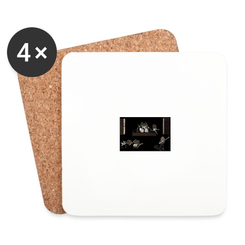 Rock_Stars_on_Stage_NEW - Coasters (set of 4)