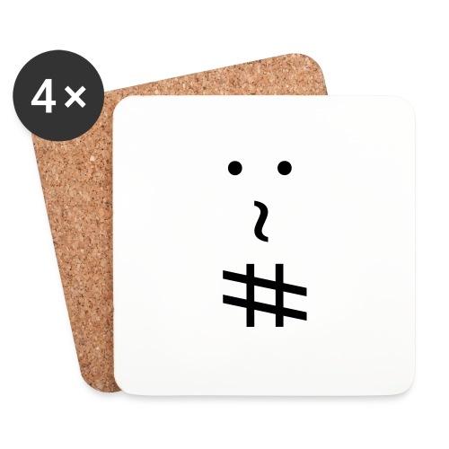 andrew.org logo - Sottobicchieri (set da 4 pezzi)