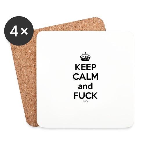 Keep calm and F*ck ISIS - Dessous de verre (lot de 4)
