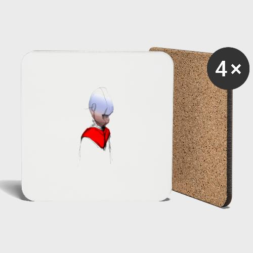 Android Bishop - Coasters (set of 4)