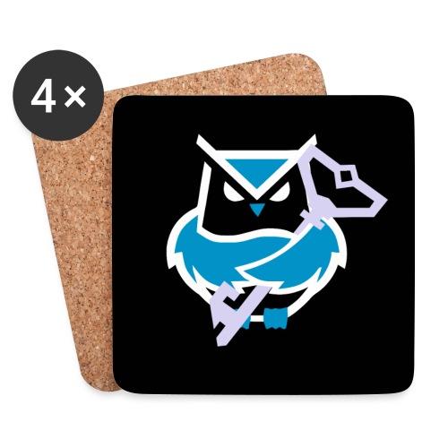 Grumpy Owl Accessoire - Untersetzer (4er-Set)