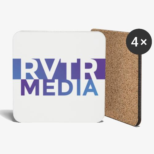 RVTR media NEW Design - Untersetzer (4er-Set)