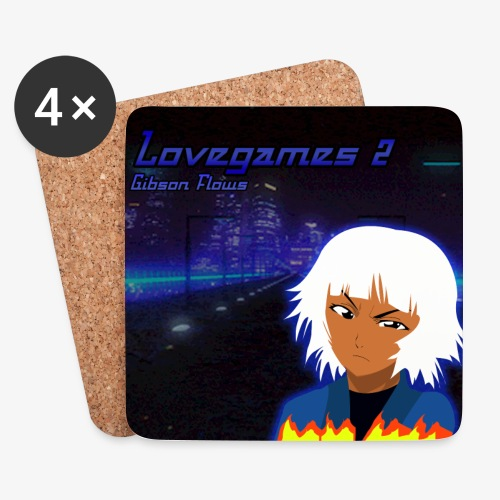 Lovegames 2 - Onderzetters (4 stuks)