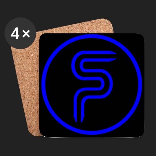 SP Kreis schwarz - Untersetzer (4er-Set)