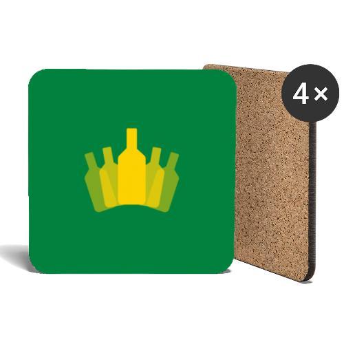 APK mot grön - Underlägg (4-pack)