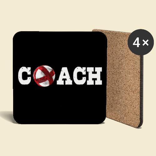 Radball Coach | Muster - Untersetzer (4er-Set)
