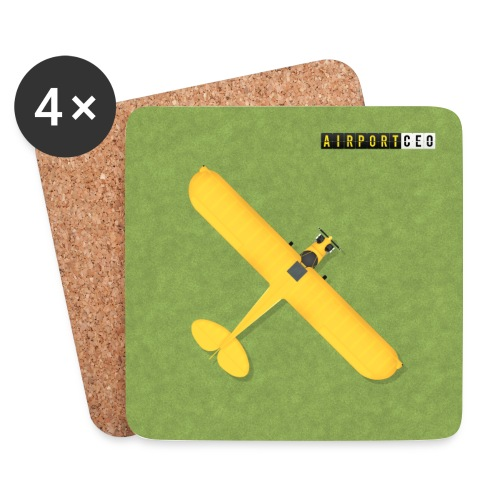 General aviation coaster - Coasters (set of 4)
