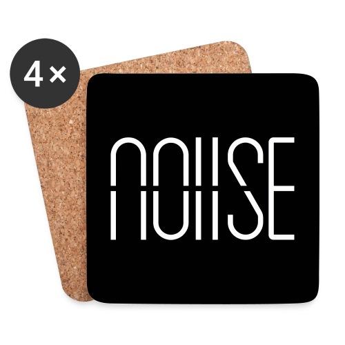 noiise_logo_nowhite - Coasters (set of 4)