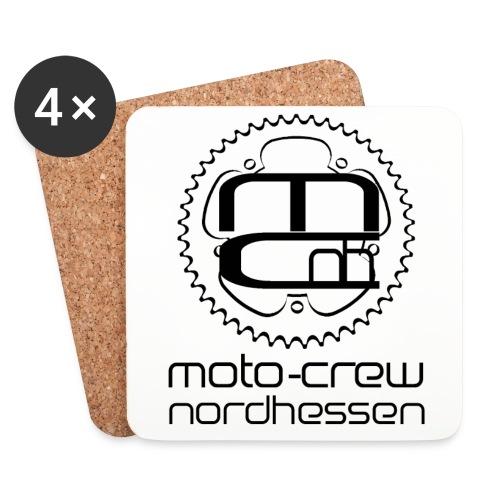 Logo schwarz neu - Untersetzer (4er-Set)