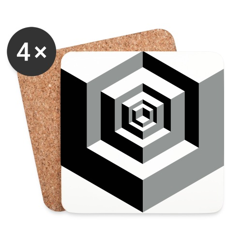 CUBE parts - Onderzetters (4 stuks)