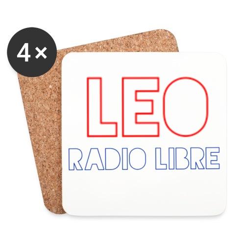 Léo Radio Libre png - Dessous de verre (lot de 4)
