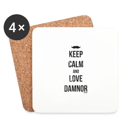 Keep calm and ... (F) - Dessous de verre (lot de 4)
