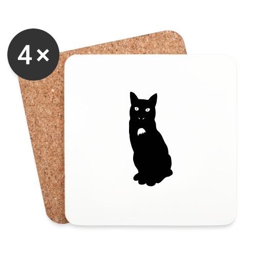 Knor de kat - Onderzetters (4 stuks)