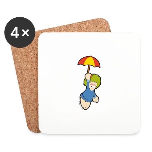 lemming parapluie - Dessous de verre (lot de 4)