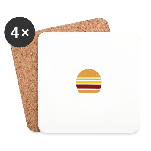 Logo Burger Panhamburger - Dessous de verre (lot de 4)