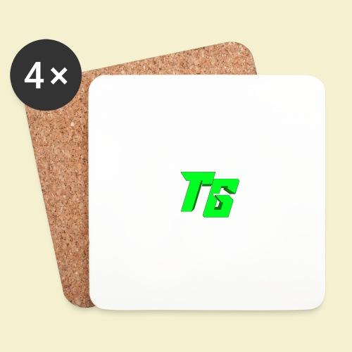 TristanGames logo merchandise - Onderzetters (4 stuks)