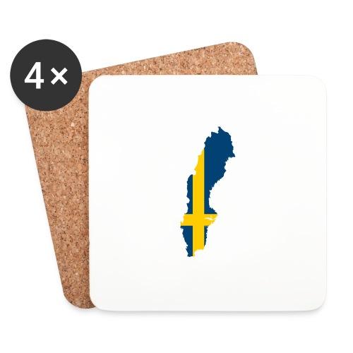 Sweden - Onderzetters (4 stuks)