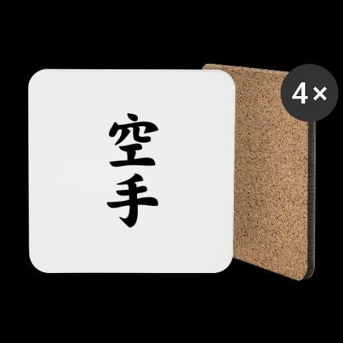 karate - Podstawki (4 sztuki w zestawie)