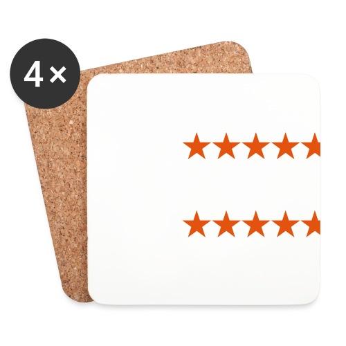 ratingstars - Lasinalustat (4 kpl:n setti)