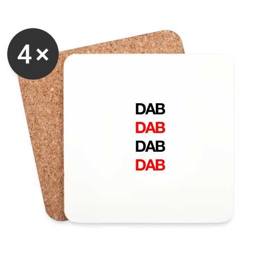 Dab - Coasters (set of 4)
