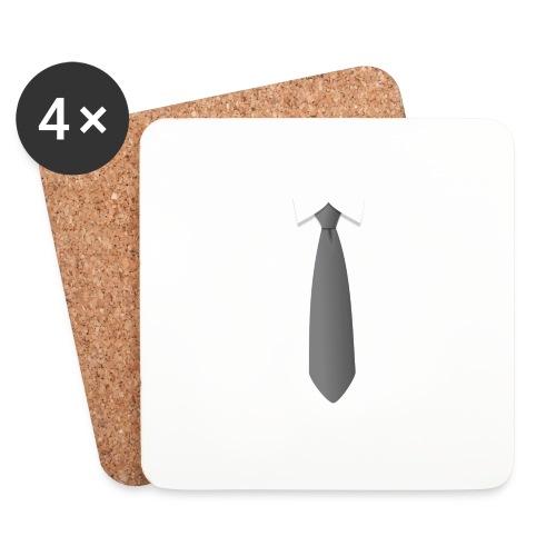 stropdas met boord - Onderzetters (4 stuks)