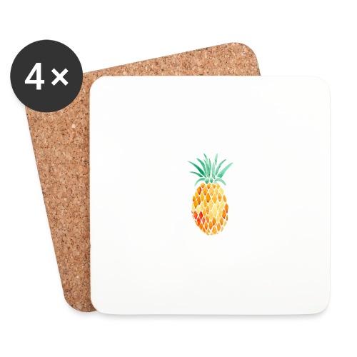 pinety logo print - Glasbrikker (sæt med 4 stk.)
