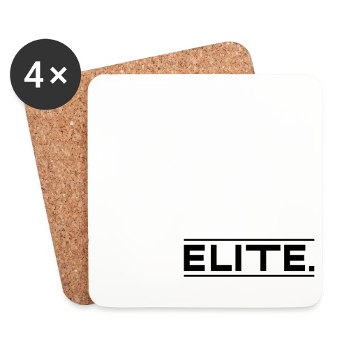 elite large black - Coasters (set of 4)