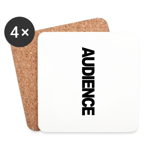 audienceiphonevertical - Coasters (set of 4)