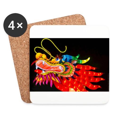 Dragon - Sottobicchieri (set da 4 pezzi)