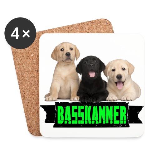 basskammertitel - Untersetzer (4er-Set)