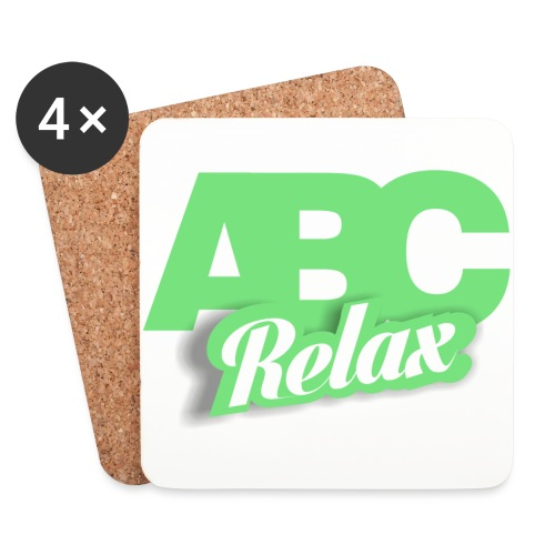abc carré logo - Coasters (set of 4)