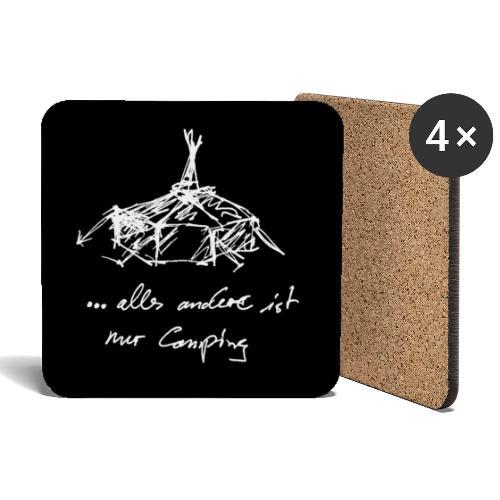 ... alles andere ist nur Camping - Untersetzer (4er-Set)