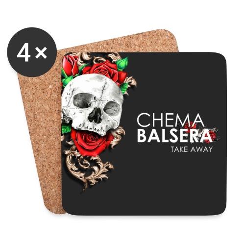 TR078 by Chema Balsera - Posavasos (juego de 4)