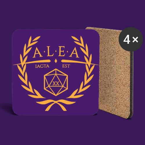 ALEA Logo, quadratisch - Untersetzer (4er-Set)