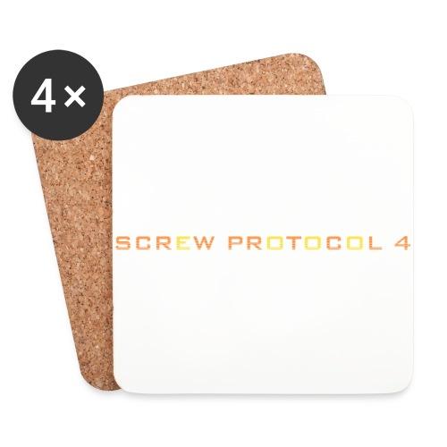 ScrewP4 Final - Coasters (set of 4)