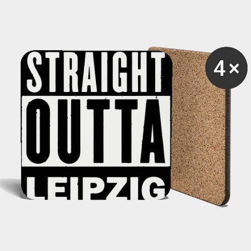 STRAIGHT OUTTA LEIPZIG - Untersetzer (4er-Set)