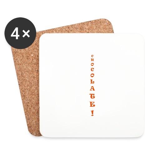 Chocolate - Sottobicchieri (set da 4 pezzi)