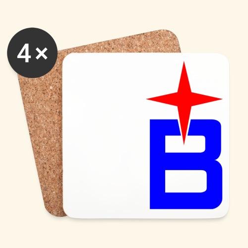 b logo - Untersetzer (4er-Set)