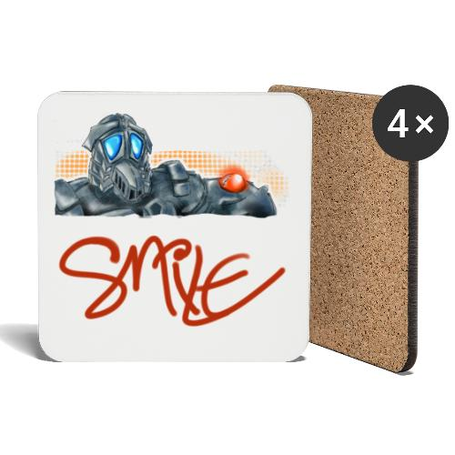 Smile Design - Untersetzer (4er-Set)