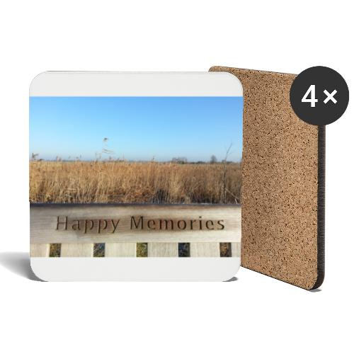 Happy Memories - Coasters (set of 4)
