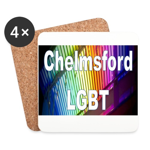 Chelmsford LGBT - Coasters (set of 4)
