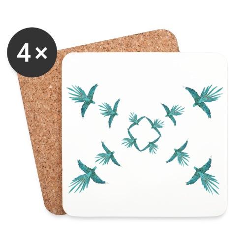 Fugler - Brikker (sett med 4)