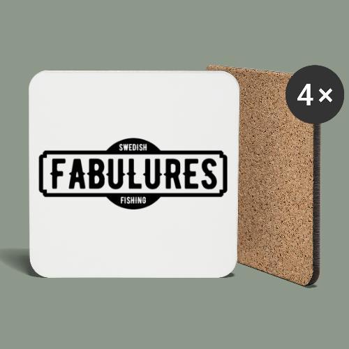 Fabulures Logo - Underlägg (4-pack)